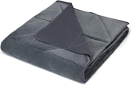 """new arrival Giantex Premium Weighted Blanket 17lbs 