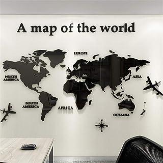 Amazon Ca World Map Wall Decal