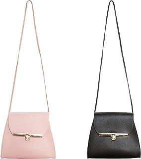 SOTOGO 2 Pack Little Girls Purses Cute Princess Handbags Shoulder Bag Cross Body Purses for Little Girls Toddlers as Gift,...