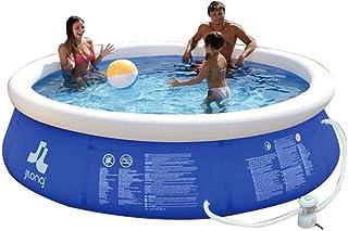 HEROTIGH Piscinas Hinchables De Gran Tamano Inflable Bebe Infantil Inflable Piscina Piscina Piscina Infantil Familia Bebe 180X73Cm Inflatable Pool