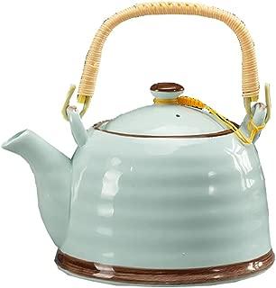 DRAGON SONIC Elegant Japanese Porcelain Teapot Home Teapot-Sky blue