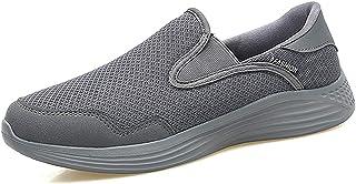 [Fainyearn] スニーカー レディース メンズ スリッポン カップルシューズ モカシン ナースシューズ 安全靴 デッキシューズ 超軽量 ウォキングシューズ 2WAY かかと踏める 男女兼用 安全靴 作業靴 大きいサイズ