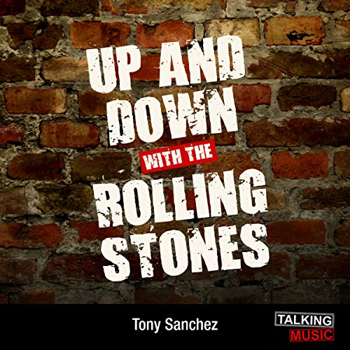 Up and Down with The Rolling Stones audiobook cover art