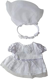 """Bride Outfit Clothing Fits Most 8""""-10"""" Webkinz, Shining Star and 8""""-10"""" Make Your Own Stuffed Animals and Build-A-Bear"""