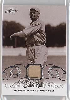 Babe Ruth (Baseball Card) 2016 Leaf Babe Ruth Collection - [Base] - Original Yankee Stadium Seat [Memorabilia] #YS-33