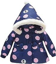 Baby Boys Girls Winter Coats Hoods Light Puffer Dashiki Print Down Jacket Outwear HebeTop