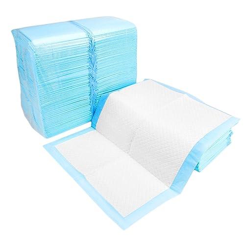 PETCUTE Tapis éducateurs pour chiots super absorbants sans odeur pee toilettes d'entraînement bleu 4tailles