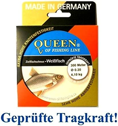 Zielfisch-ficelle queen of fishing line//zander 0,25mm 6,0kg 300m