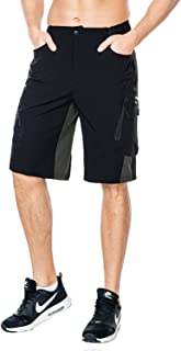 Nonwe Men's Outdoor Quick Dry Hiking Water-Resistant Cycling Shorts