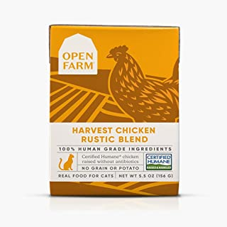 Open Farm Harvest Chicken Rustic Blend Stew 5.5 Ounces, Case of 12