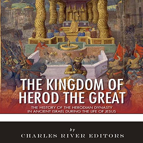 The Kingdom of Herod the Great audiobook cover art