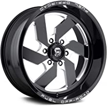 FUEL Turbo NB -BLK MIL Wheel with Painted (22 x 12. inches /8 x 180 mm, -43 mm Offset)