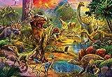 Educa- Tierra de Dinosaurios Puzzle, 1000 Piezas, Multicolor (17655)