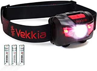 Ultra Bright CREE LED Headlamp – 160 Lumens, 5 Lighting Modes, White & Red..