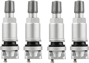 YAOPEI 4pcs Alloy Tubeless Valve for TPMS Tyre Pressure Monitoring System Sensor YPLHQZ