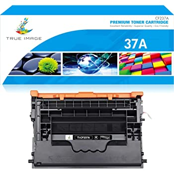 Renewable Toner Compatible Cartridge Replacement for HP CF237A 37A Laserjet Enterprise M631 M632 M633 M607 M608 M609 Black, 2 Pack