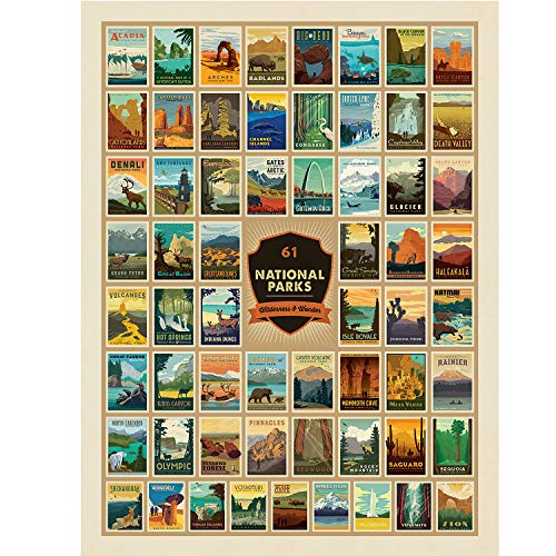 (50% OFF) 61 National Parks Jigsaw Puzzle $9.50 – Coupon Code