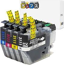 インクのチップス ブラザー LC3111 互換インク 4色セット LC3111-4PK 互換