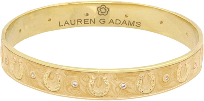 Lauren G. Adams Equestrian Horseshoe Bangle - Medium