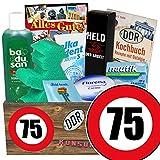 75. Geburtstag / DDR Pflege Set / Geburtstags Geschenke
