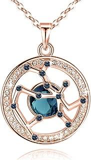 Best blue swarovski crystal necklace Reviews