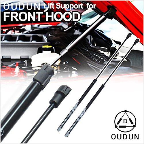 Deebior 2pcs Front Hood Bonnet Gas Lift Supports Strut Shocks Springs Compatible With 1998-2004 300M 1998-2004 Intrepid SG314021 4257