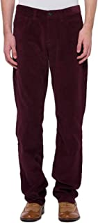bossini Men's Pants, Casual Snug Slim Fit Corduroy Pants