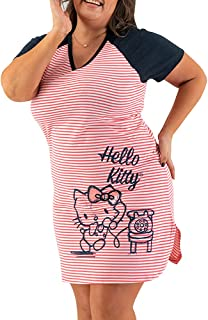 Panty Luk Pijama Dama Tipo Camisón Hello Kitty KY6006 Pijama Mujer
