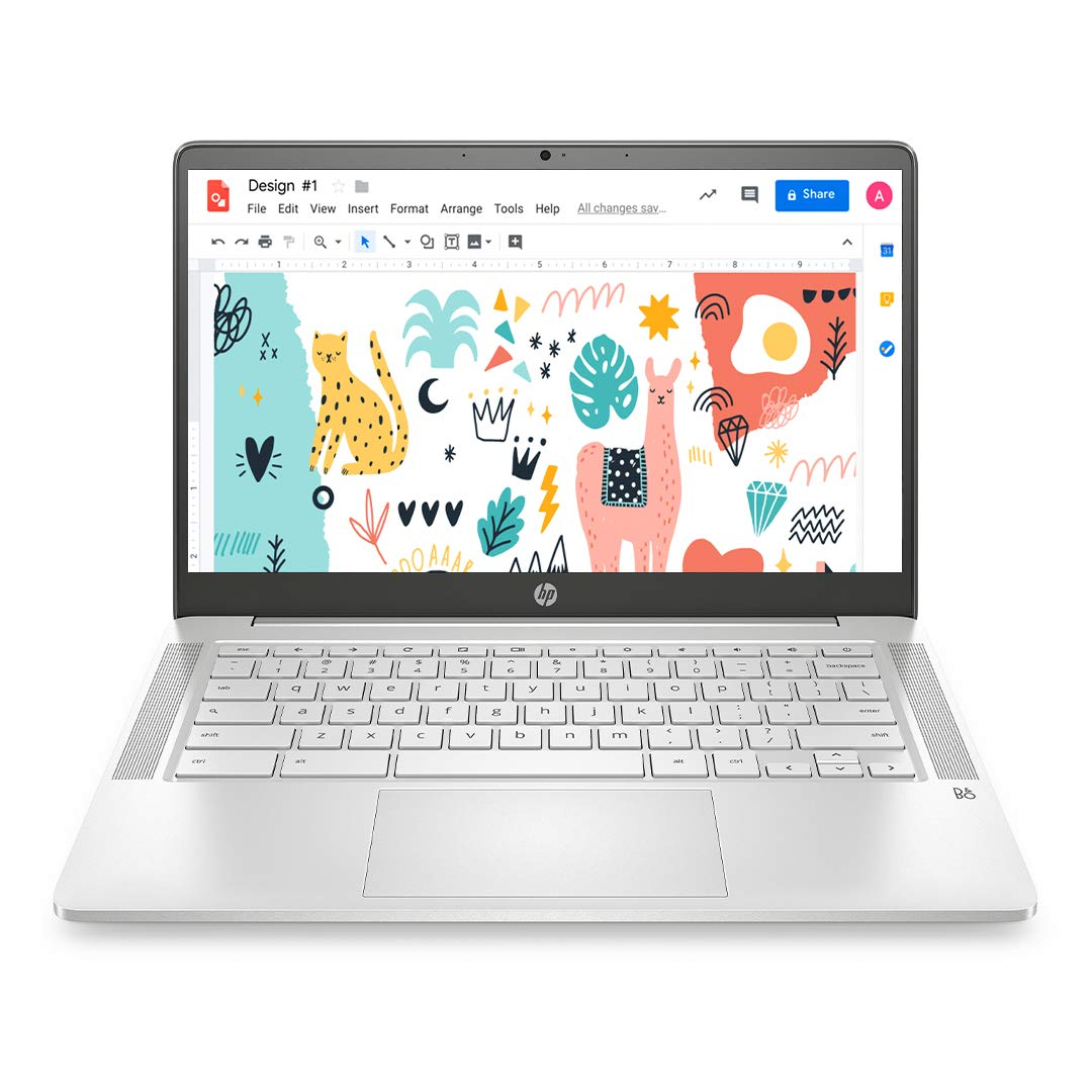 Amazon.in: Buy HP Chromebook 14-inch (35.56 cms) Thin & Light Touchscreen  Laptop (Celeron N4020/4GB/64GB eMMC + 256GB Expandable Storage/Chrome OS/1.46  kgs Light/ Mineral Silver), 14a-na0003TU Online at Low Prices in India  