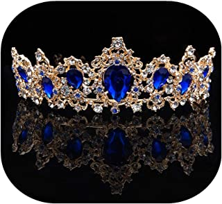 Wedding Bridal Women's Crystal Decor Crown Headband Headpiece Hairband Prom Party Hair Accessories Tiara