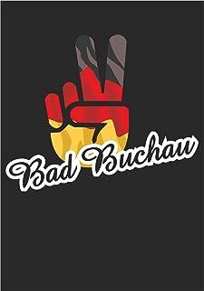 Indigos UG - Stickers - Autosticker - Sticker - Duitsland - Stad Bad Buchau - Victory - overwinning - achterruit, kofferba...