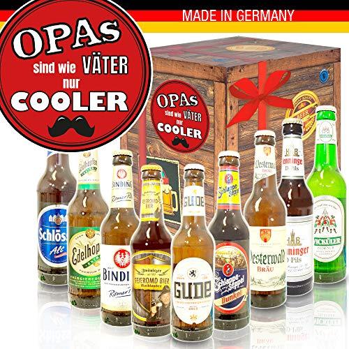 Opas sind wie Väter/Geburtstags Bier/Deutsche Bier Box