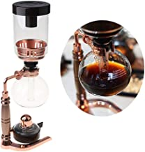 MONLEYTA Siphon Thee Sifon Pot Vacuüm Koffiezetapparaat Glas Type Koffiemachine Filter