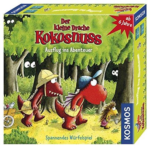 Kosmos 697556 - Der kleine Drache Kokosnuss - Ausflug ins Abenteuer, Brettspiel