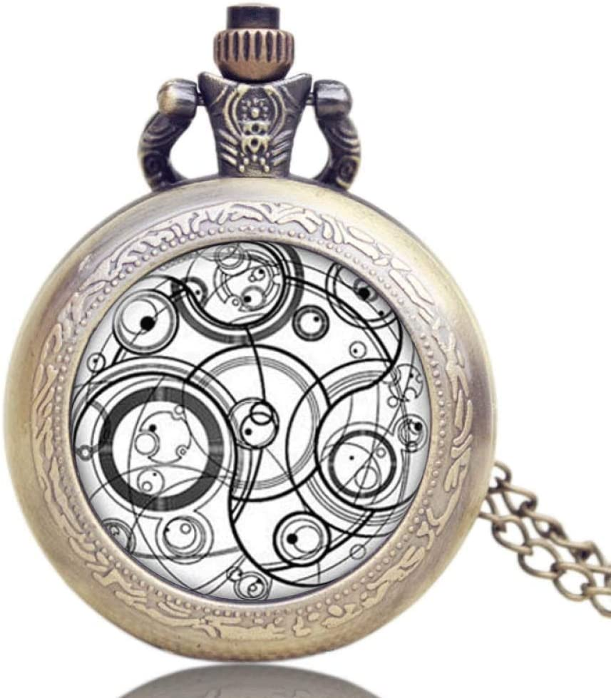 XJJZS Pocket Watch Men's gift Silver Sales of SALE items from new works Covered Finish