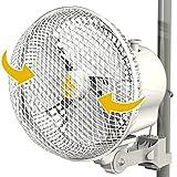 Secret Jardin Version 2.0 Oscillating Monkey Fan 20W Fits 0.63' - 0.83' Inch Grow Tent Poles