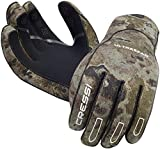 Cressi Ultra Span Gloves - Guantes para hombre (2.5 mm) multicolor camuflaje, talla:S