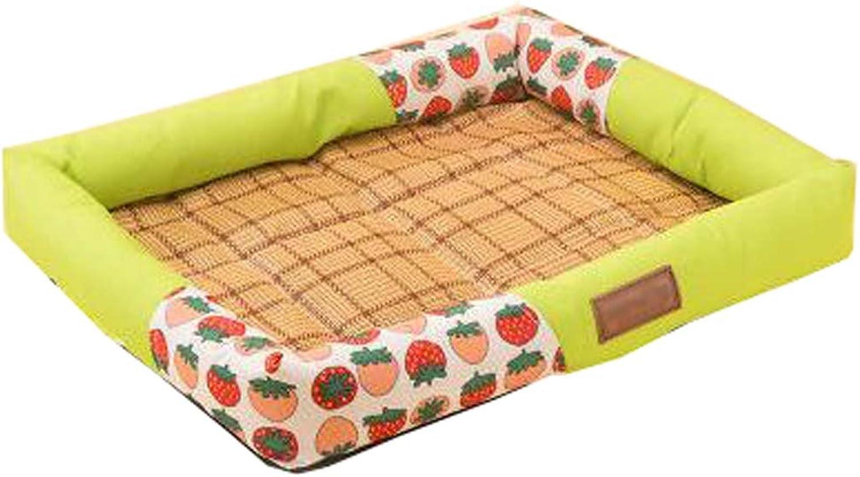 Pet mat Dog Cushions Four Seasons Common Kennel cat Cute mat Summer pet nest