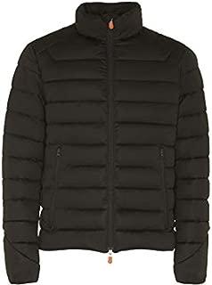 Mens Short Solid Stretch Coat