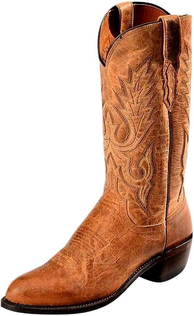 Lucchese Men's Handmade 1883 Mad sale Dog Boot Award Cowboy Goatskin