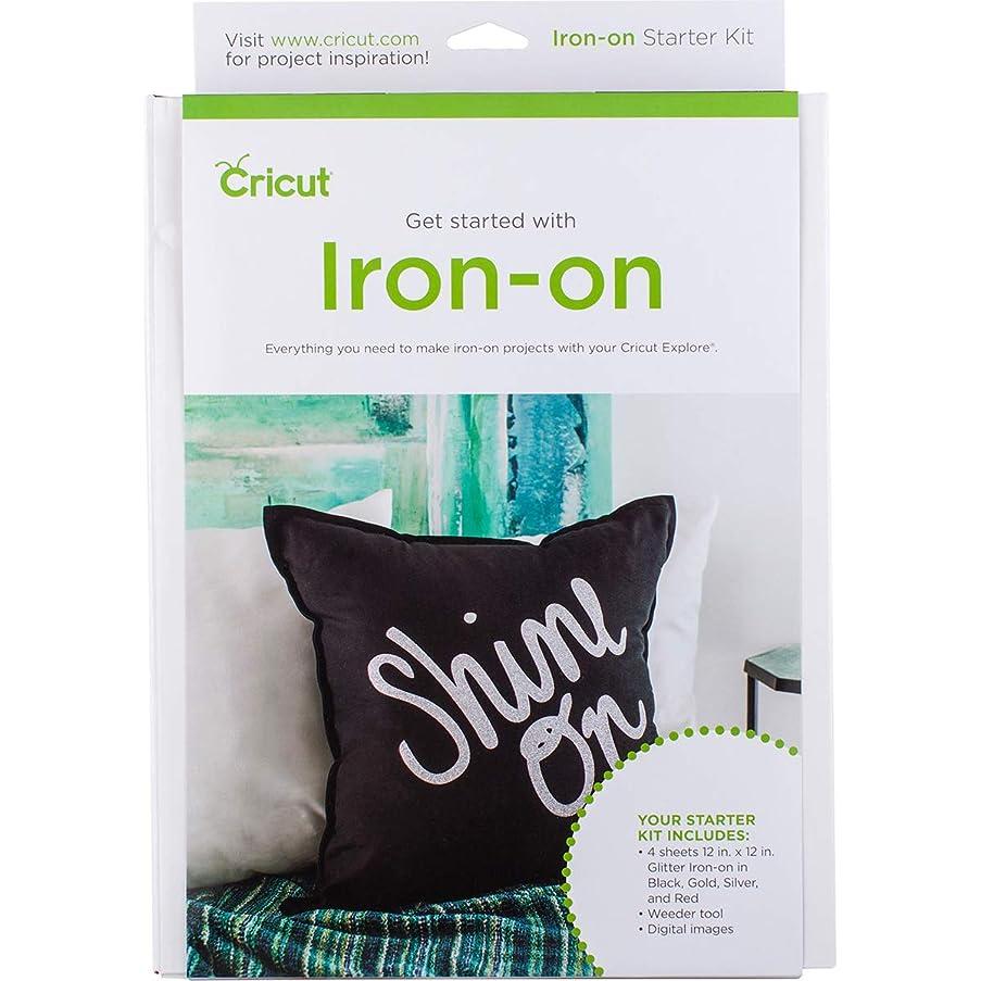 Cricut 2003672 Iron On Starter Kit,4-Pack