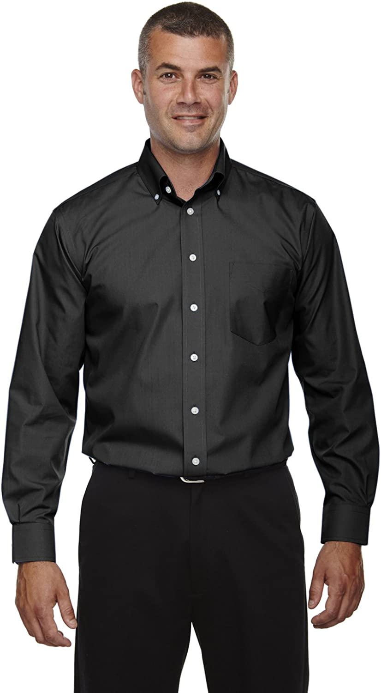 Devon Jones Men's Tall Crown Collection Solid Broadcloth, Black, 3XT