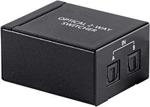 Monoprice 113344 Toslink S/PDIF 2x1 Switch