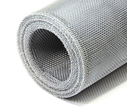 Aluminiumgewebe Alu-Gewebe Fliegengitter Gewebe 1,0 x 2,5 m Grundpreis/m² 7,18 Euro