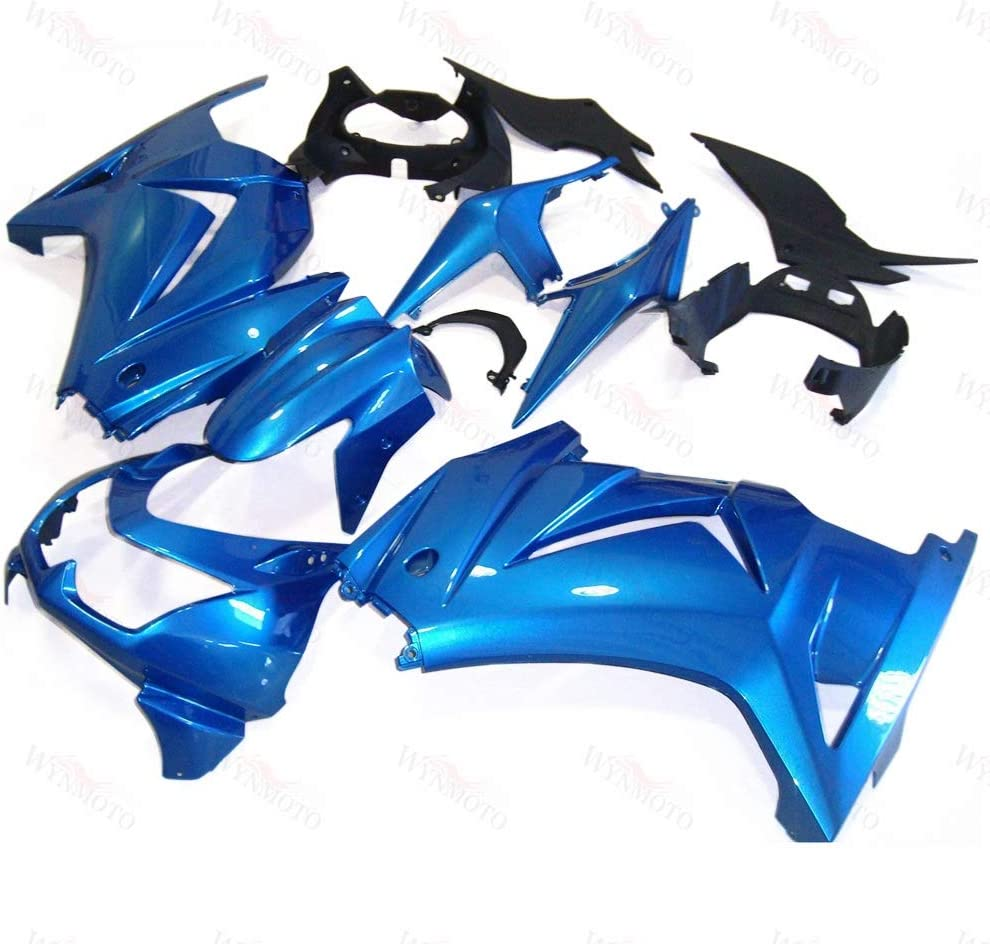 WYNMOTO Sale SALE% OFF High quality new Gloss Blue Injection Fairing Kit 2008 Fit EX250R 200 For
