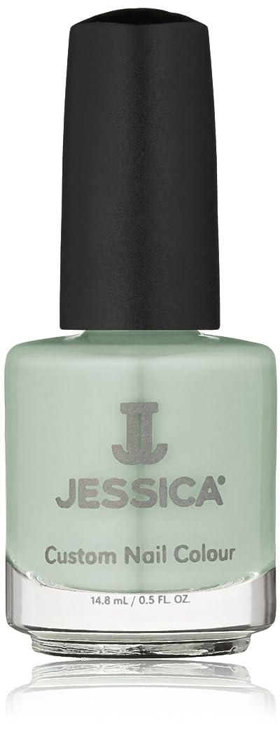 サーキットに行く踏みつけ者Jessica Nail Lacquer - Mint Blossoms - 15ml / 0.5oz