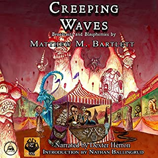 Creeping Waves audiobook cover art