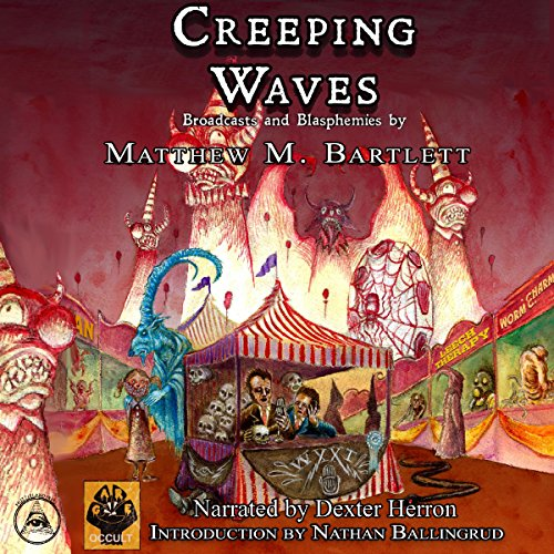 Creeping Waves audiobook cover art