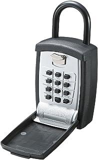 イーサプライ キーボックス 鍵収納 プッシュ式 ボタン式 暗証番号 防犯 EEX-SLPL997B