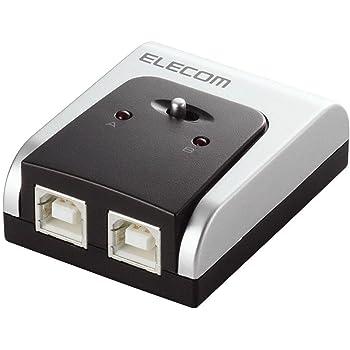 エレコム USB切替器 手動 2.0対応 2台 U2SW-T2